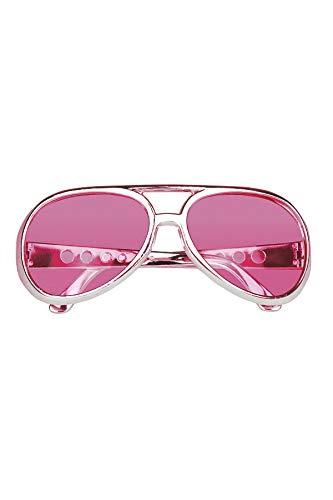 TH-MP 60er 70er Jahre Rockstar Sonnenbrille Retro Brille Rock and Roll Outfit Zubehör Accessoire Schlager