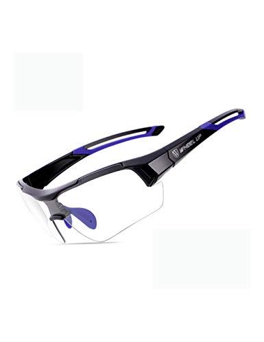 HNPYY Sonnenbrillen Photochrome Fahrradbrille Mountain Racing Bike Brille Radfahren Sonnenbrillen Herren Outdoor Sport Brillen Mtb Fahrrad Sonnenbrille, C.