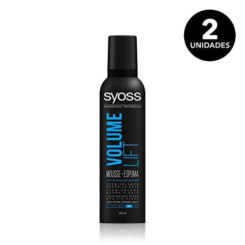 Syoss Espuma Volume Lift - 2 uds 250 ml