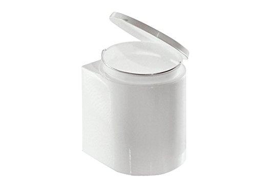 Giganplast Pattumiera da Pensile, Plastica, 12 litri