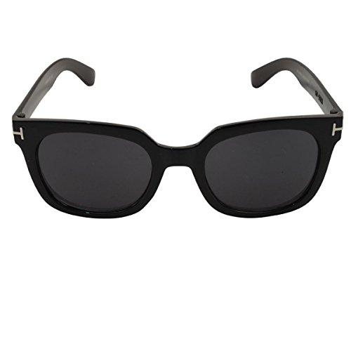 Freak Scene® Retro Sonnenbrille ° 80er Jahre ° schwarz breit