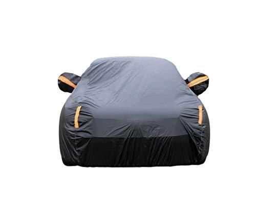 Geeignet für Mini Car-Cover Mini Cooper ONE ONE Plus Cooper S Cabrio Clubman Countryman Sonnenschutz Regenfest Verdickung Isolierung Mini Special Car-Cover (Color : Black, Size : Cooper S) (Car Cover Mini Cooper S)