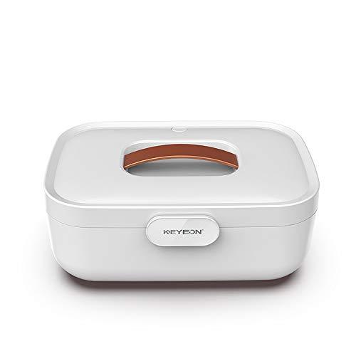 ZJJGRASS Mini Dryer Haushalt Sterilisator Box ultraviolett UVOzon-Entkeimung Unterwäsche BH Desinfektion Kabinett Briefs Handtuch Kleidung Trocknungsautomat,Weiß