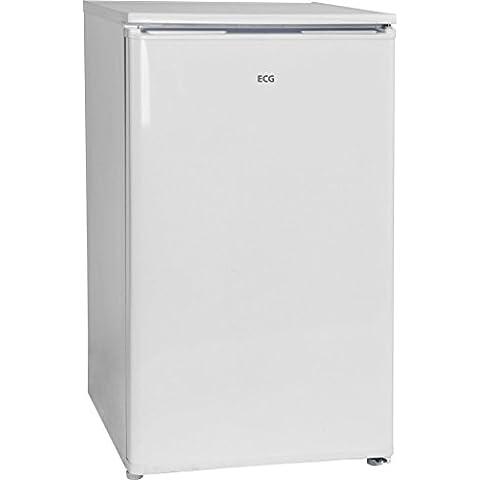 ECG ERT 10850 WA-frigo Estate, indipendente, colore: bianco, diritto, 81 L, 55 L, ST, N)