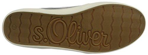 s.Oliver  23606, Sneakers Basses femme Argent (SILVER 941)