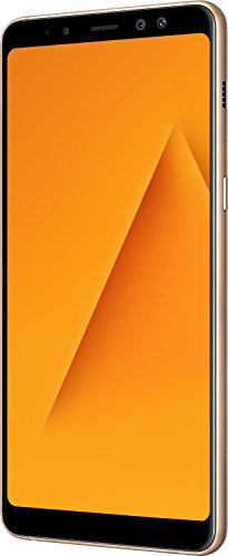 Samsung Galaxy A8+ (Gold, 6GB RAM, 64GB Storage)