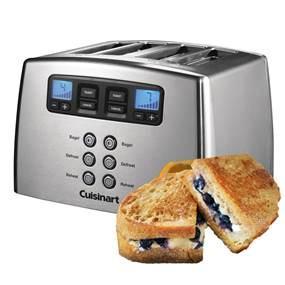 cuisinart cpt440e motorisierter 4 schlitz toaster. Black Bedroom Furniture Sets. Home Design Ideas