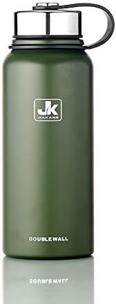Portaombrelli Portaombrelli Portaombrelli da esterno in acciaio inox per esterno grande capacità regalo tazza portatile spazio mobile (Coloree   verde) 5c7e7b