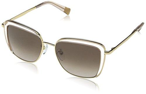 Furla eyewear occhiali da sole donna, trasparente (shiny rose gold), 45