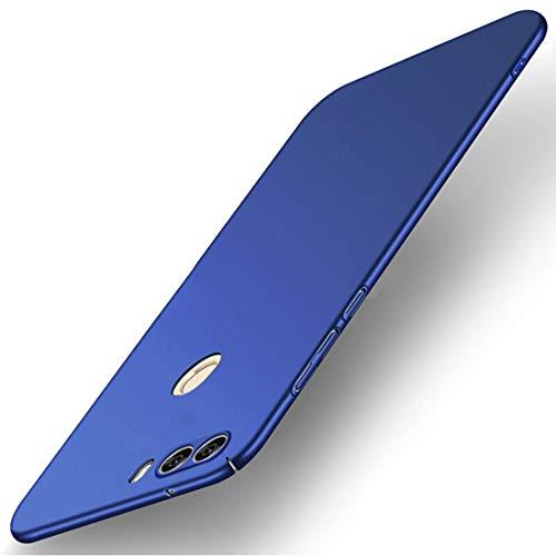 Tianqin ZTE Nubia Z17S Hülle, Ultra Leichte Schutzhülle Ultra dünnes PC Cover Harte Schale Anti-Scratch Stoßstange Einfache Stilvolle Abdeckung für ZTE Nubia Z17S - Blau