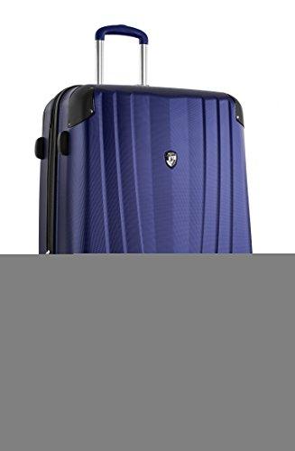 ... 50% SALE ... PREMIUM DESIGNER Hartschalen Koffer - Heys Core Velocity Blau - Trolley mit 4 Rollen Gross Blau