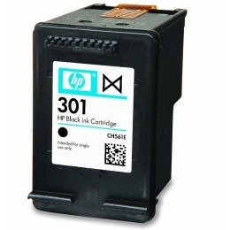 Original HP 301 Schwarze Druckerpatrone für HP Envy 5530 Drucker