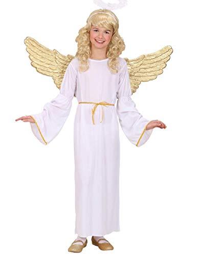 Größe 140 - 8 - 10 Jahre - Kostüm - Verkleidung - Karneval - Halloween - Cherub Engel - Weiße Farbe - Unisex - Kinder -