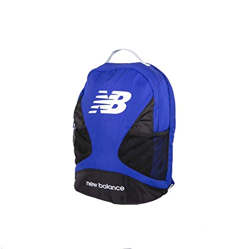 Preisvergleich Produktbild New Balance Players Backpack Dual Compartment Bag with Padded Laptop Sleeve,  Gunmetal,  One Size