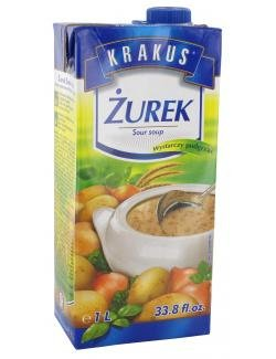 """""""Krakus"""" Zurek Suppe, 1 L"""