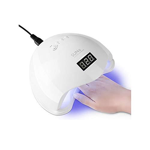 Maniküre Lampe 48W Dual Lichtquelle Intelligente Sensor Phototherapie Maschine Zeitspeicher Nageltrockner 10 Sekunden Schnell Trocken -