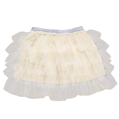 squarex Mädchen Kinder Baby Tanz Feste elastische Tutu Rock Pettiskirt Ballett Kostüm Kinder Reine Farbe Tanz Tutu Kleid