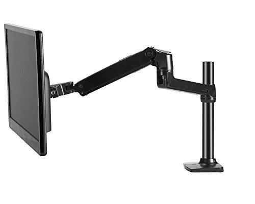 Neckholder LCD Monitor Stand, Single Arm verstellbar, Schreibtisch Klemme/Tülle Boden, hält bis zu 81,3cm LCD-Monitore