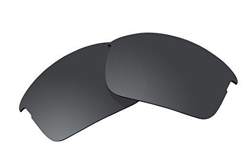 Polarized Replacement Lenses for Oakley Bottle Rocket Sunglasses - 5 Options Available (Stealth Black) by BVANQ