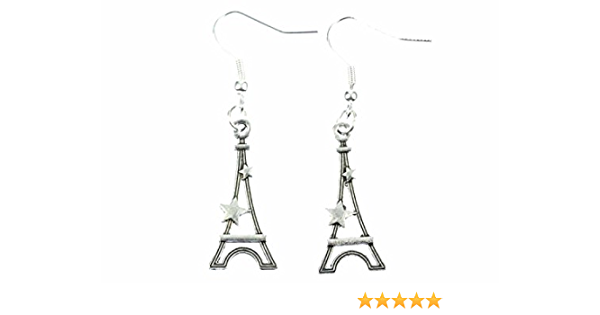 Ohrringe Hänger Ohrhänger Eiffelturm Eifelturm Paris Liebe Sehenswürdigkeit 896*