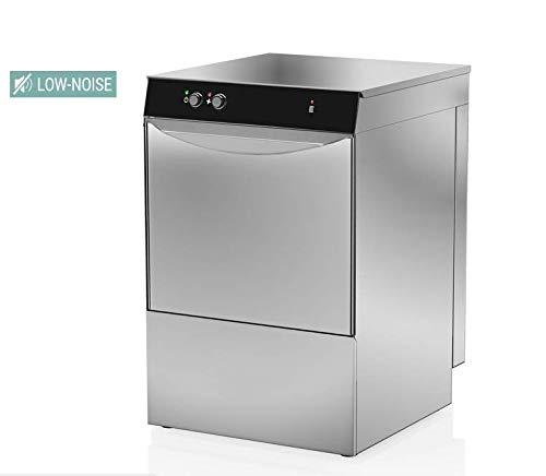 GläserSpülmaschine mit Laugenpumpe Edelstahl 2,77kw 230V Ideal für Gastronomie