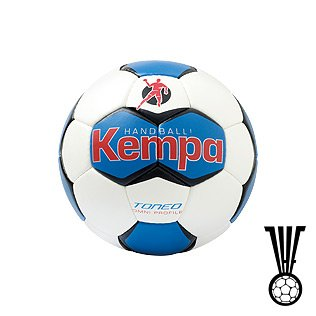 Kempa 041561 Handball Toneo Omni Profile, weiß/royal/rot, 2, 200184202