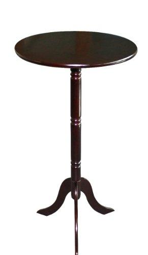 Frenchi Home Furnishing Tisch, rund - Kirsche Wohnzimmer Beistelltisch