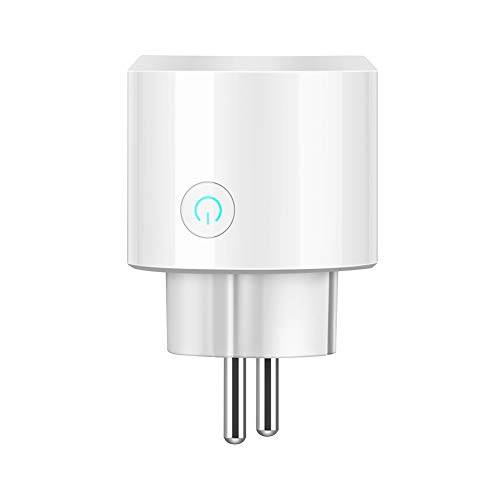 aaerp BSD23 WiFi Presa Remoto Wireless Smart Timer Plug Controllo vocale EU Home Fire Retardant PC Smart Power Socket EU Plug