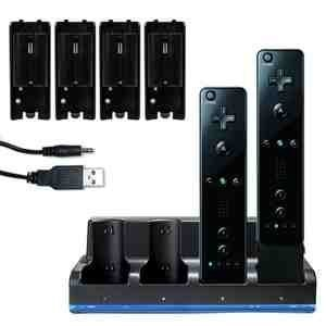 b-nintendo-wii-black-quad-motionplus-charging-charge-dock-station-with-4x-rechargeable-battery-plus-
