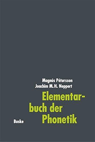 Elementarbuch der Phonetik