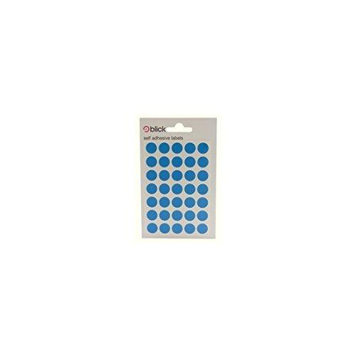 Blick Label Bag 13mm Blue Pack of 140 RS003953 Pack of 20