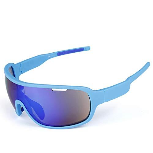 MUTANG Polarisierte Sportbrillen Radfahren Sonnenbrillen für Männer Frauen Fahren Fahren Angeln Golf Baseball Ski Staub und Sandproof und Impact Windschutzscheibe (Farbe : D)