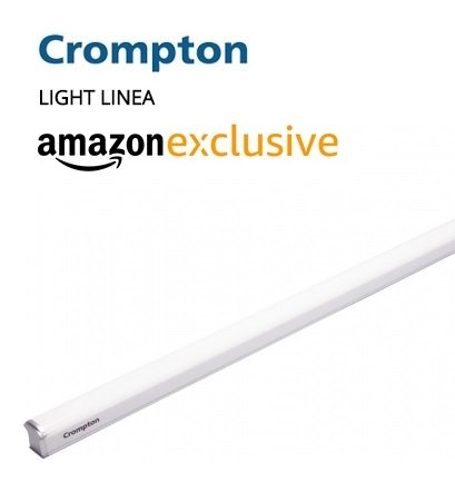 Crompton Light Linea 20-Watt LED Tube Light (Cool Day Light)