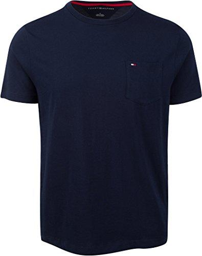 Tommy Hilfiger Herren T Shirt Tee Navy