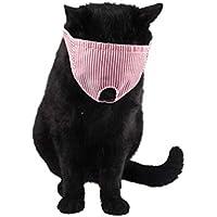 iShinè_Pet supplies Mund Streifen Mode Gesichtsmaske pet wash Gesicht Abdeckung cat Eye Drop Maske gesundheitswesen Bad atmungsaktiv Schutz