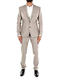 G1NPCTFU3H1M0118 Dolce&Gabbana Costumes Homme Laine Gris