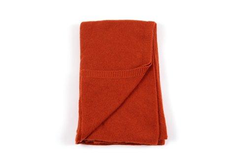 Ritz Collection Damenstrickschal aus 100% Kaschmir, Orange -