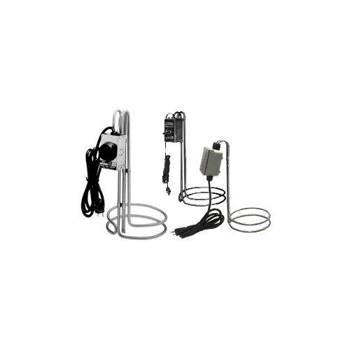 Utility-thermostat (ulanet 492-6Edelstahl 316heetgrid Utility Tauchsieder mit Thermostat Kontrolle, 33cm Durchmesser, 35,6cm Höhe)