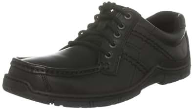 Hush Puppies Latitude Black Mens Lace Up Shoes UK Size 9.5