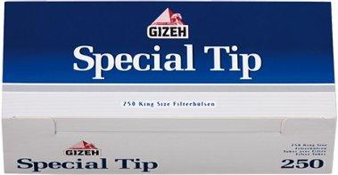 10000 Gizeh Special Tip Hülsen ,Filterhülsen mit Blitzversand