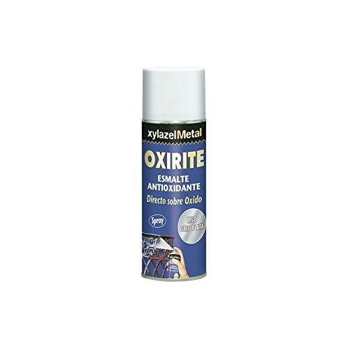 Xylazel - Esmalte metal oxirite spray liso 400 plata