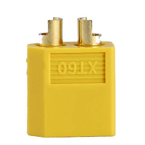 Bassa resistenza per alta capacità di corrente 5pcs all'ingrosso XT60 Bullet Connettori spine femmina per RC LiPo Battery Motor Disponibile