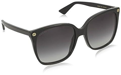 Gucci Sunglasses 0022S_001 (57 mm) Black, 57