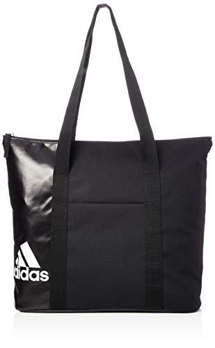 adidas Damen Training Essentials Tote, Schwarz (Black White), 14x34x43 Centimeters