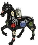 Tirelire–Cheval–Tirelire céramique peint à la main 26x 7x 24cm en 4designs différents, Design 3