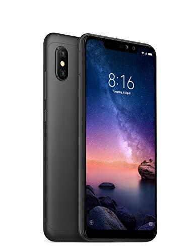 "Xiaomi Redmi Note 6 Pro - Smartphone de 6.26"" (4G, Octa-Core Snapdragon 636, RAM de 4 GB, Memoria de 64 GB, cámara Dual de 12+5 MP, Android) Color Negro"