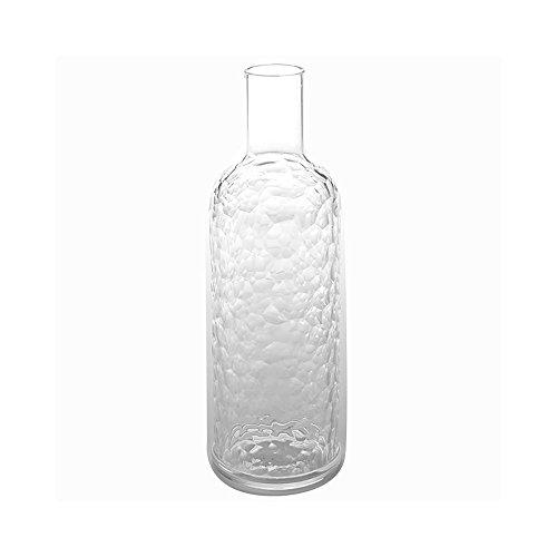 American Metalcraft WB34Wasser Flasche, Kunststoff, Diamant, 33oz Kapazität, 3-1/5,1cm Durchmesser, 11-1/10,2cm Höhe, klar - 33oz-wasser-flasche