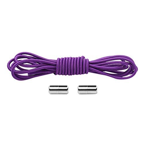 Clacce 1 Paar No Tie Lazy Shoelaces Bandage Verschiedene Spitze Stile Metal Connect Flexible