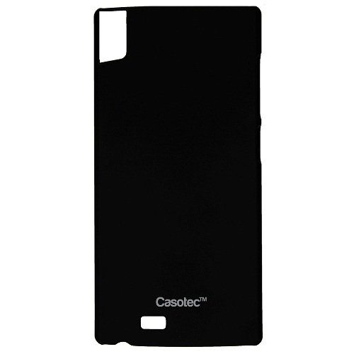 Casotec Ultra Slim Hard Shell Back Case Cover for Gionee S5.5 - Black  available at amazon for Rs.175