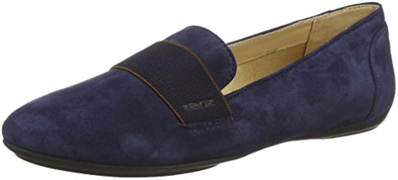Geox Donna Charlene - Zapatos sin Cordones de Cuero Mujer